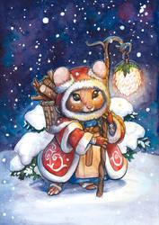 Little Snowmouse by engelszorn