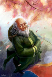 Uncle Iroh by engelszorn