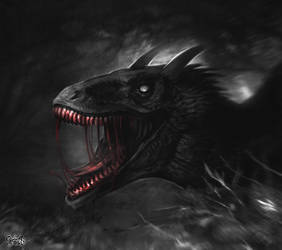 Ember (+speed painting) by Elesteyzis