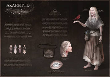 Azarette reference by Elesteyzis