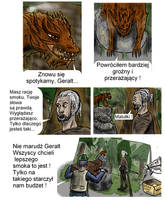 Wiedzmin Komiks O Smoku Strona 2 by Sporeczek