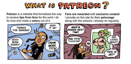 What is Patreon? by sidneymt
