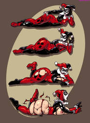 Harley Quinn Expansion by sidneymt