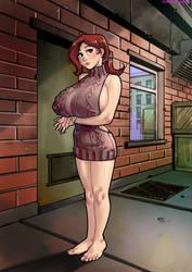 Golden Girl Virgin Killer by sidneymt