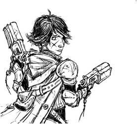 gunslinger by miwkins