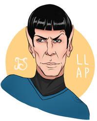 Spock by TommySamash