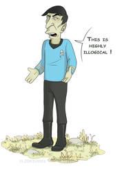 Mister Spock by TommySamash