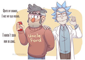 Stanford and Rick by TommySamash