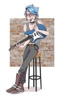 Punk Rick by TommySamash