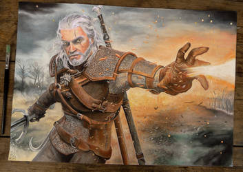 Geralt of Rivia by Marrannon