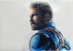 Steve Rogers - Infinity War by Marrannon