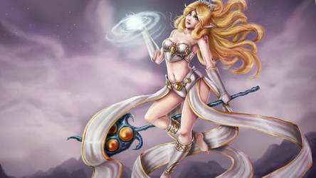 Janna-League of Legends by Tropic02