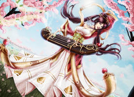 Guqin sona - League of legends by Tropic02