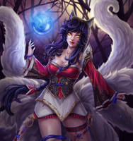 Ahri - League of Legends by Tropic02