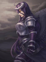 Armored Albedo - Overlord by Tropic02