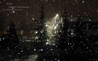 Night Christmas by skizo