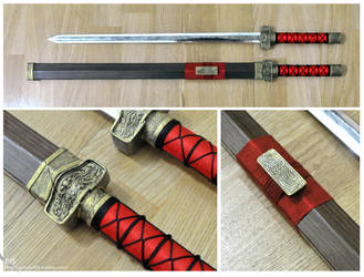 Sword used in puppetry by monster815