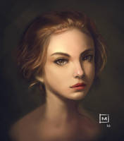 Portrait Study by scaverle