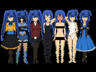 Ritsu wardrobe by Inirias