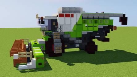 Claas Combine Harvester by CaptainJEK