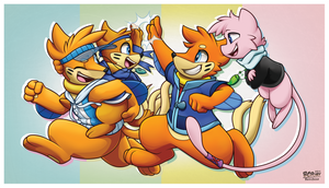 -Commission- Good Times by BuizelCream