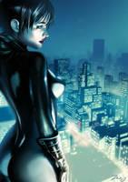 Catwoman - By Zero by MarcelZero