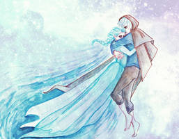 Jack and Elsa by raskina