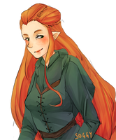 The Hobbit: Tauriel by soggy-cats