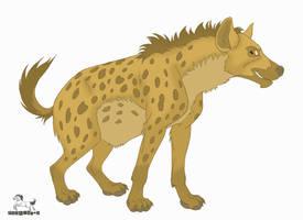 Hyena by pookyhorse