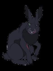 Koba as a rabbit by pookyhorse
