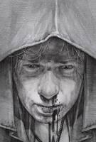 hooded man by DanielGrzeszkiewicz