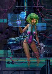 Cyberpunk by DanielGrzeszkiewicz