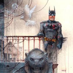 BATMAN by DanielGrzeszkiewicz