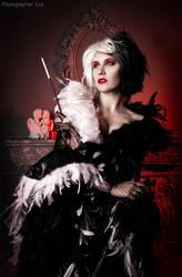 Cruella de Vill by MrsGnob