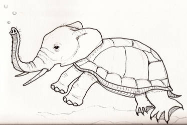 Turtlephant by jaimeiniesta