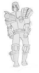 Judge Dredd by jaimeiniesta