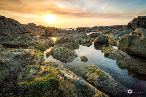 sharp sunset by MarcosRodriguez