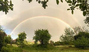Double rainbow by MarcosRodriguez