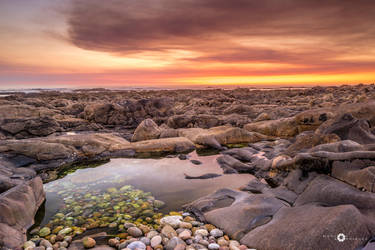 Galician sunset V by MarcosRodriguez