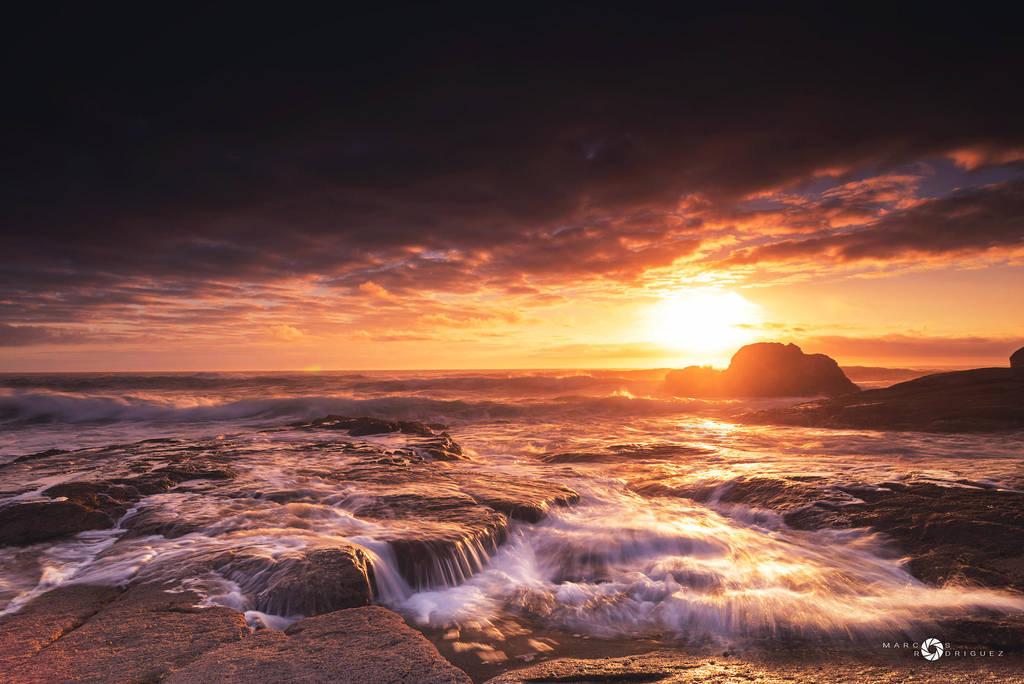 Galician sunset VIII by MarcosRodriguez