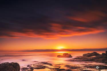 long sunset by MarcosRodriguez