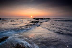 Sun setting by MarcosRodriguez