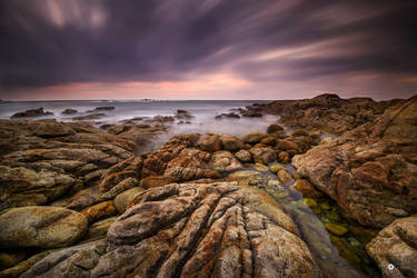 rocks, wind and sea by MarcosRodriguez