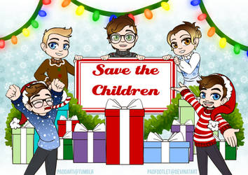 Jack The Halls: Save the Children by padfootlet