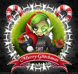 Merry GLiTcHMaS: Green Bean Edition by padfootlet