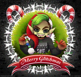 Merry GLiTcHMaS: Green Bean Edition v2 by padfootlet