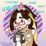 Level up! by padfootlet