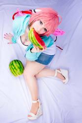 Ikaros casual cosplay by Itakichan