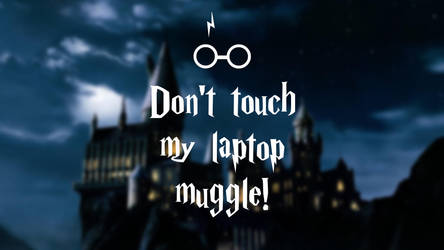 Harry Potter - laptop wallpaper muggle by NikitaL