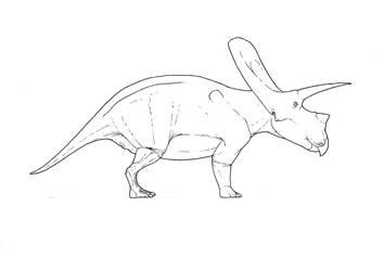 Torosaurus WIP by Smnt2000